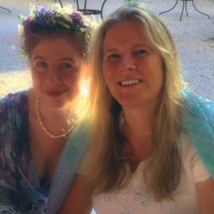 Jeanne und Marion auf den Spuren von MMJPG