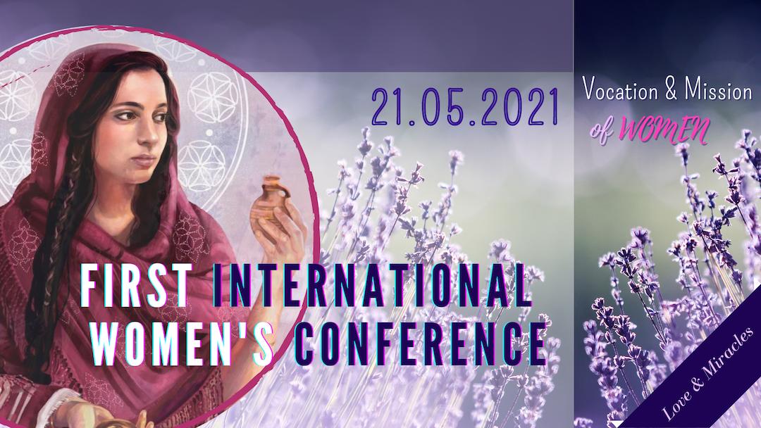 1.Internationale Frauenkonferenz in der Basilika der Maria Magdalena in Südfrankreich